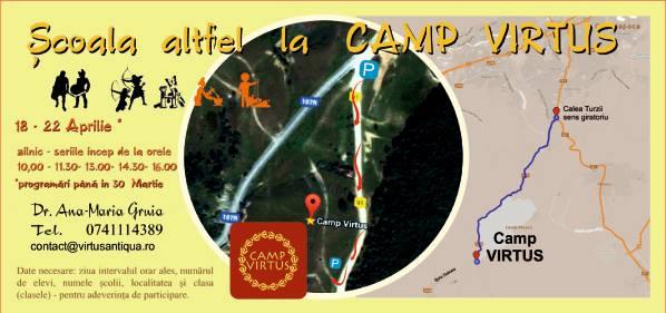 Scoala Altfel la CAMP VIRTUS 18-22 Aprilie 2016